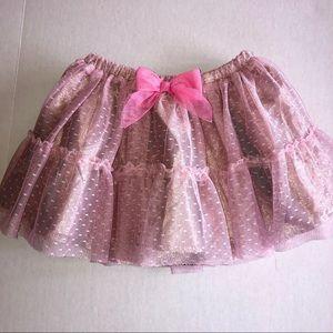 Girl Ballet Fairy Pink Skirt Princess Mesh Costume